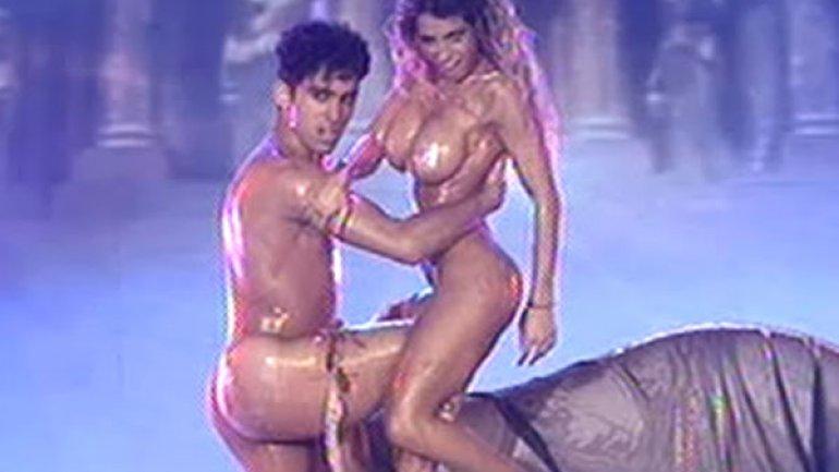dance sin ropa:
