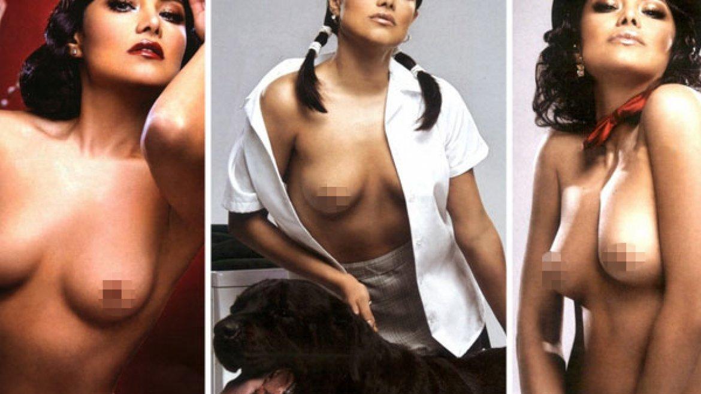 La actriz de Amores Perros se desnudó para Playboy
