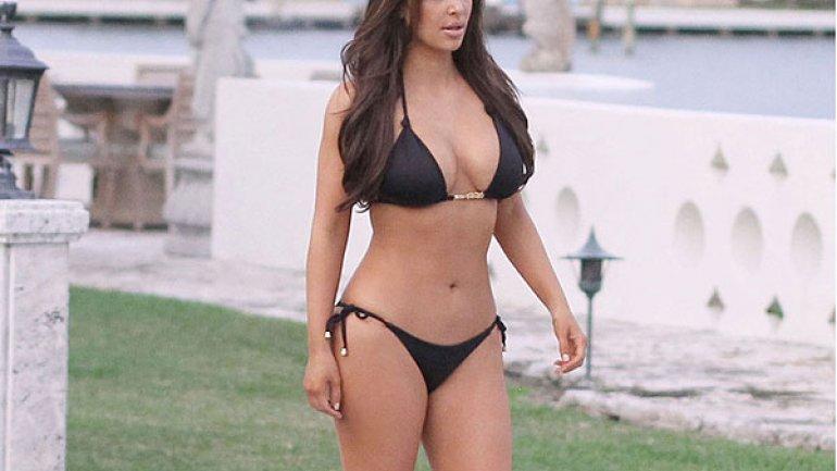 Dijo Kim Kardashian De La Foto En Que Aparece Desnuda Cocina