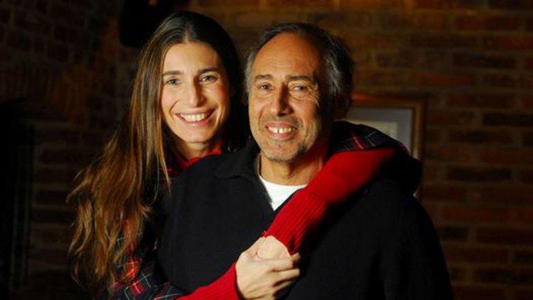 Gustavo Yankelevich y su hija Romina Yan