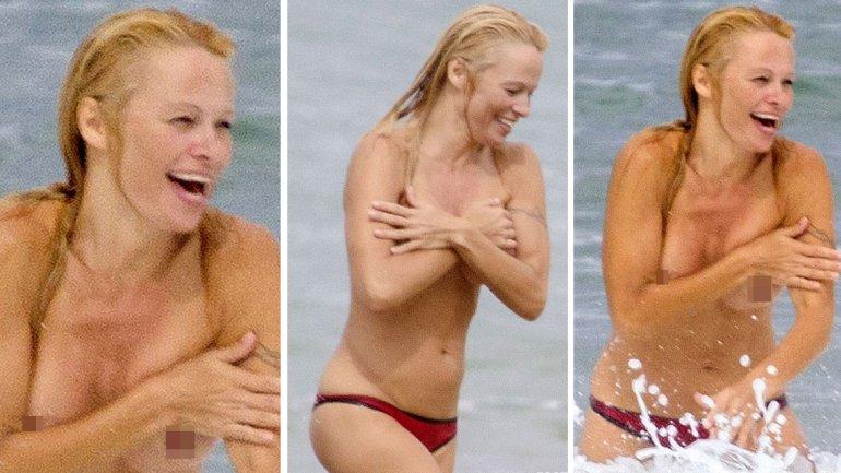 El topless de Pamela Anderson