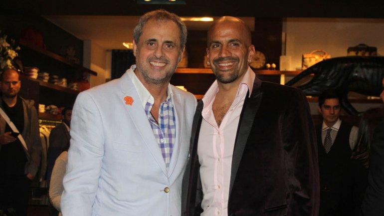 Jorge Rial y la Brujita Veron