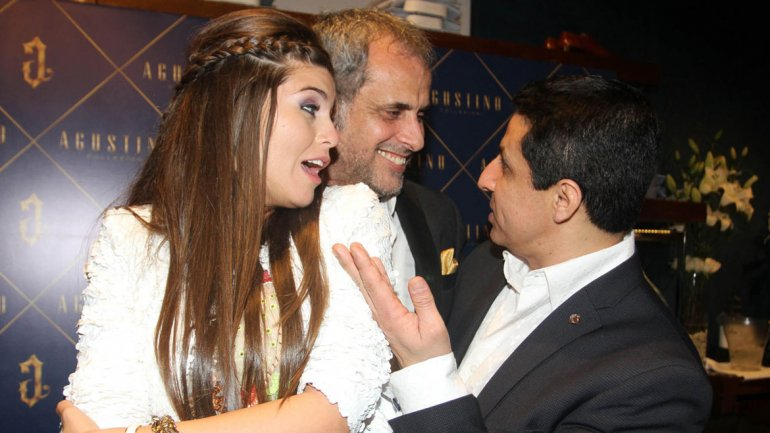 Mariana Antoniale, Jorge Rial y Gustavo Arce