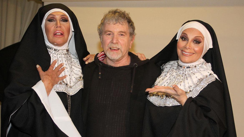 Moria Casán, Ricky Pashkus y Carmen Barbieri