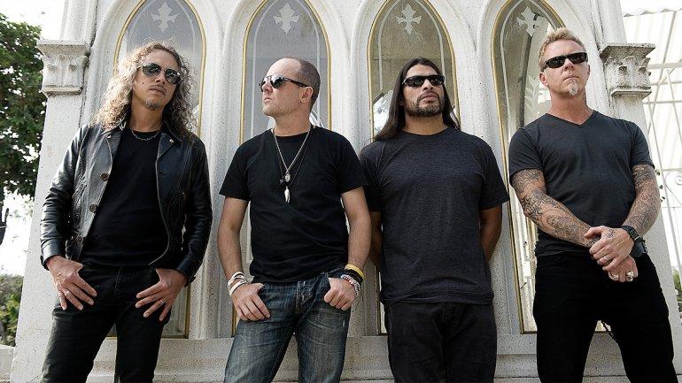 Metallica toca en la Antartida