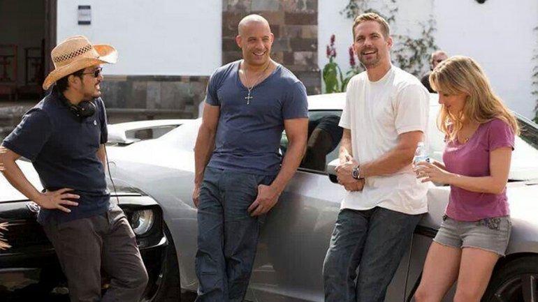 Antes del fallecimiento de Paul Walker, el actor junto a Vin Diesel se