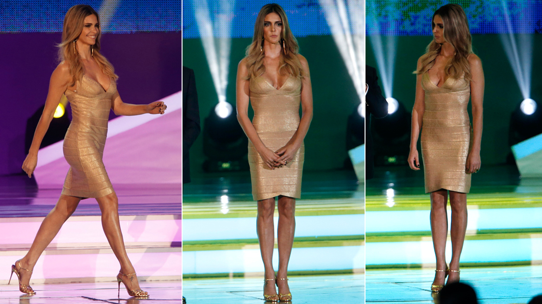 Fernanda Lima, la diosa del sorteo de Brasil 2014