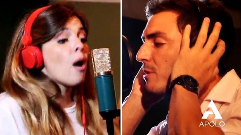 El video de Dalma Maradona con el novio de Gianinna