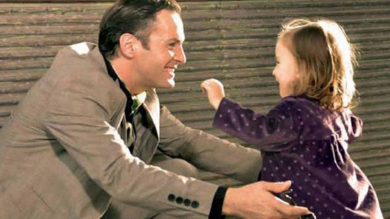 Axel y su hija Agueda