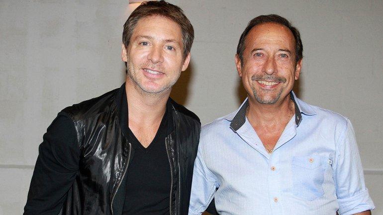 Adrián Suar y Guillermo Francella