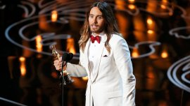 Jared Leto, ganador Actor de Reparto por Dallas Buyers Club
