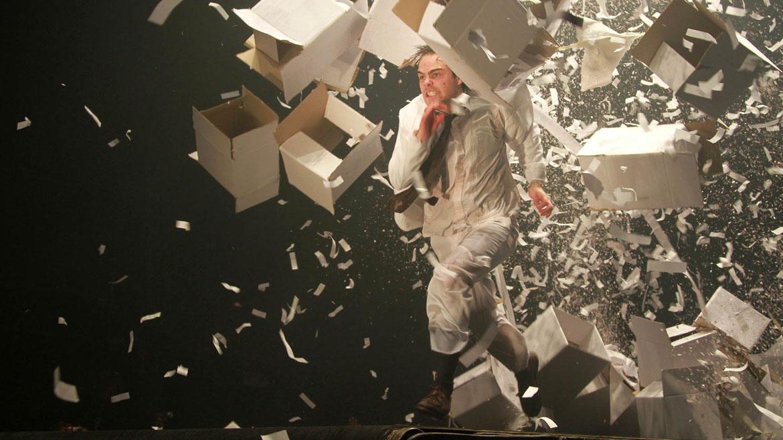 Peter Lanzani en Fuerza Bruta