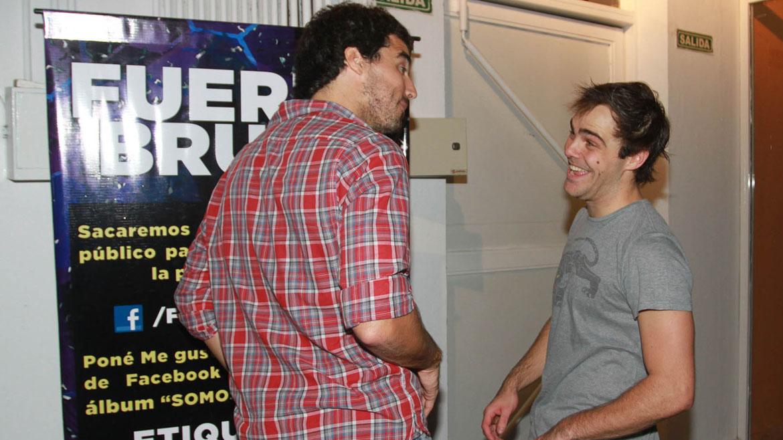 Peter Lanzani y Nacho Viale