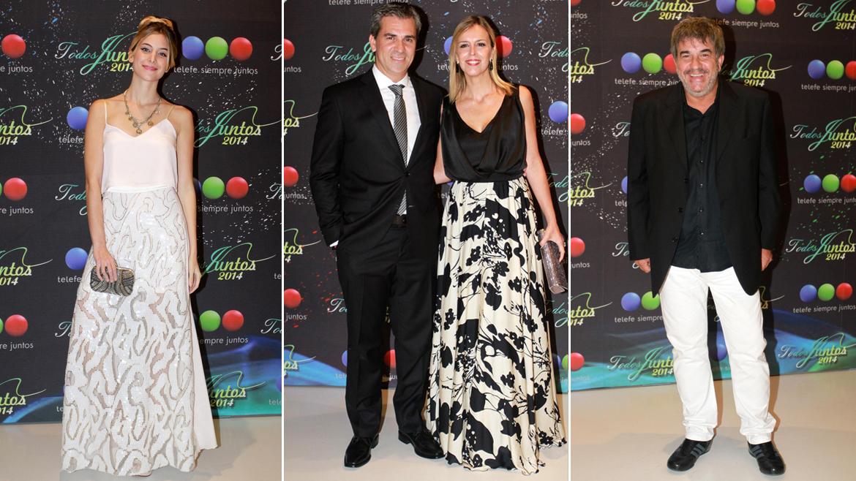 Olivia Viggiano, Adrián Puente y Milva Castellini y Miguel Ángel Rodríguez