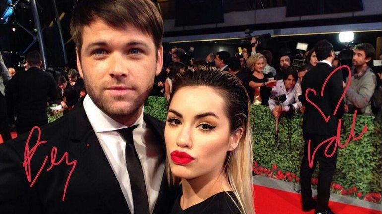 Lali Espósito junto a su novio Benjamín Amadeo