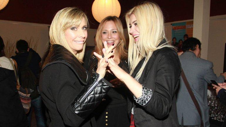 Adriana Salonia, Betina OConell y Eva de Dominici