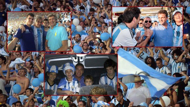 Famosos y politicos que fueron a ver a argentina taringa for Noticias famosos argentina