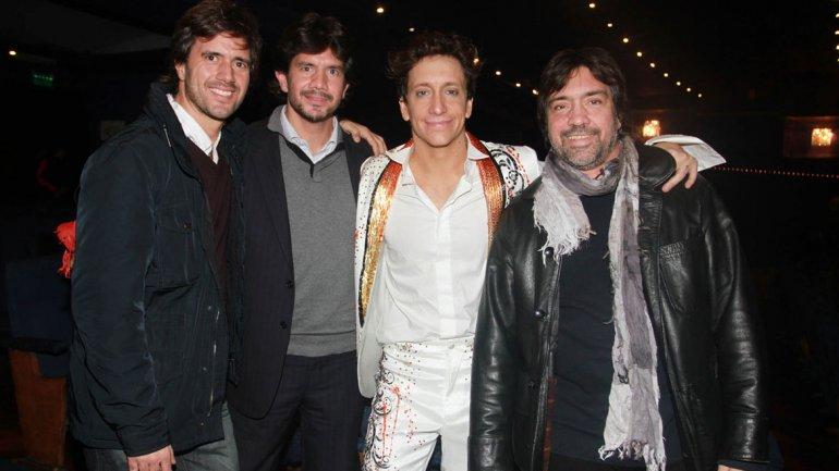 Nico Vázquez en el estreno de Stravaganza Tango