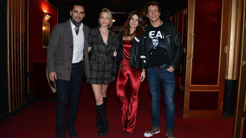 Gonzalo Heredia, Brenda Gandini, Gimena Accardi y Nico Vázquez