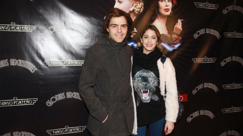 Luego de ver Criatura emocional, Martina y su novio Peter Lanzani disfrutaron del espectáculo Tango Porteño, glorias argentinas