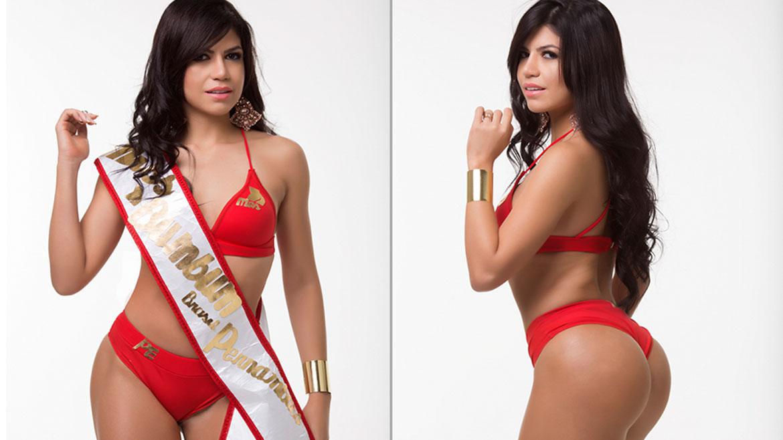 Jaqueline Veloso, 24 años, representa al estado de Pernambuco