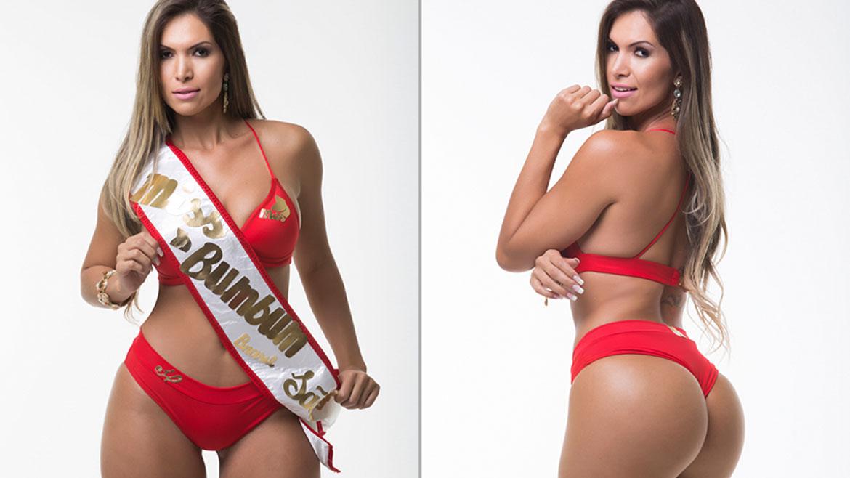 Gisa Gomes, de 28 años, representa al estado de São Paulo