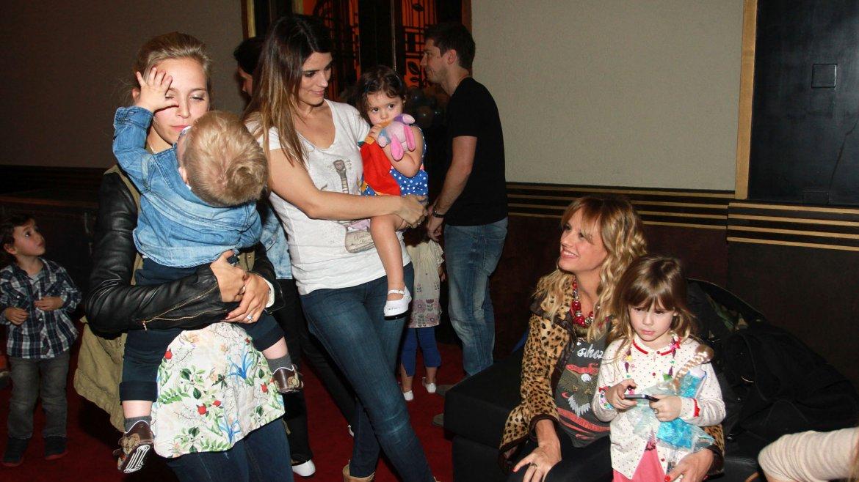 Muchos famosos fueron a ver a Topa al teatro con sus hijos
