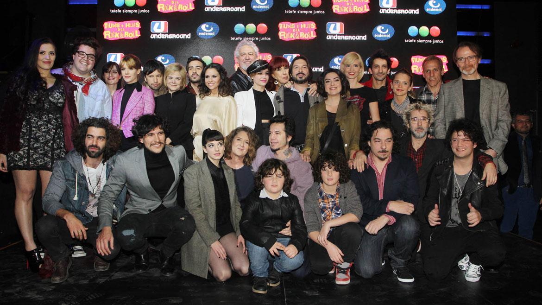 Elenco de Viudas e hijos del Rock & Roll