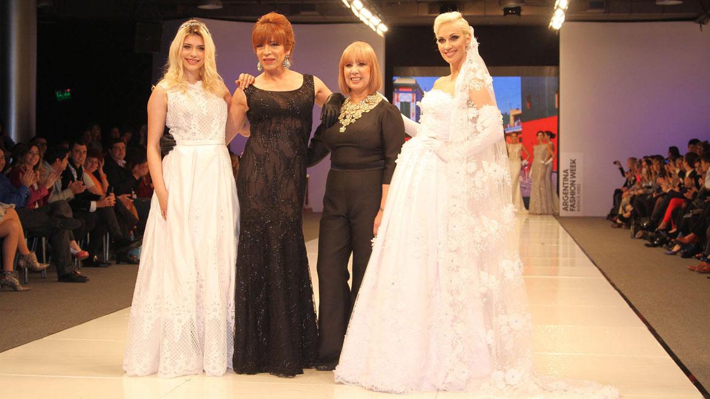Eva De Dominici, Lizy Tagliani, Iaia Cano e Ingrid Grudke