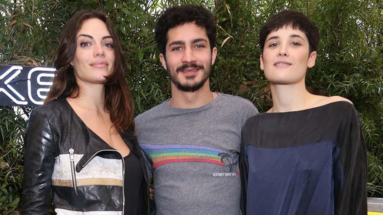 Emilia Attias, Chino Darin y Flor Torrente