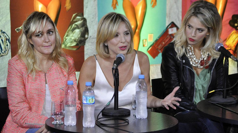 Marina Bellati, Carla Peterson y Luisana Lopilato