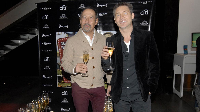 Guillermo Francella y Adrián Suar