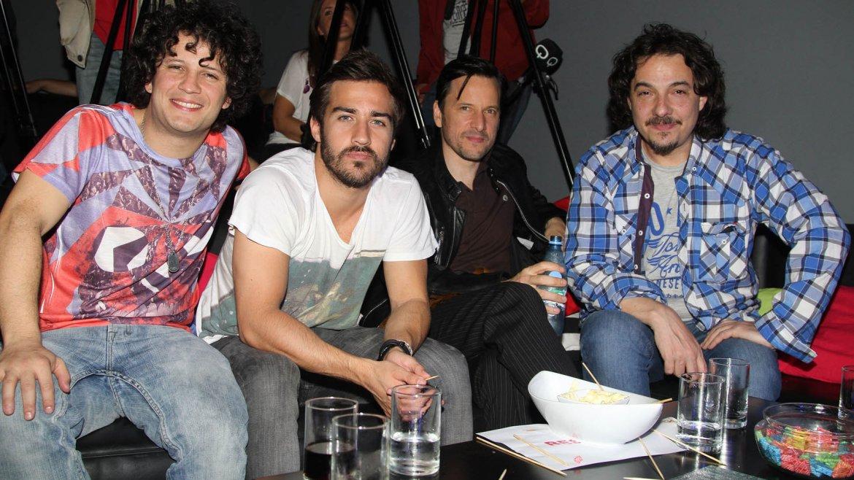 Dario Lopilato, Nico Francella, Antonio Birabent y Fernán Mirás