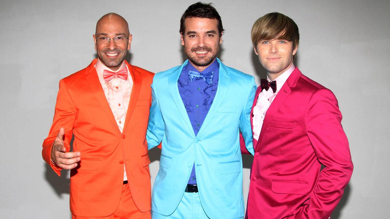 Freddy Villareal, Peter Alfonso y Benjamín Amadeo