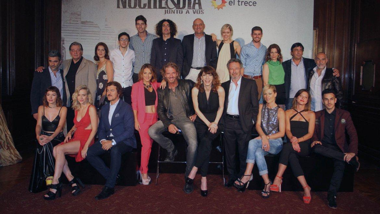 El elenco de Noche & Día