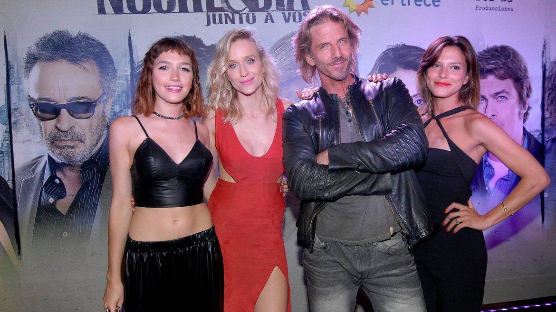 Candela Vetrano, Brenda Gandini, Facundo Arana y Manuela Pal