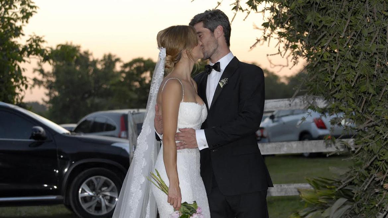Marcela Kloosterboer yFernando Sieling, ya son marido y mujer