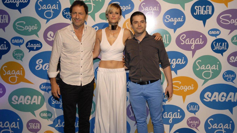 Martin Seefeld, Mónica Antonópulos y Felipe Colombo