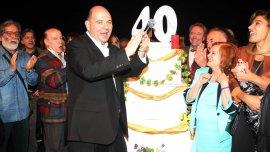 Rottemberg festejó con una gran celebración en el teatro Metropolitan City