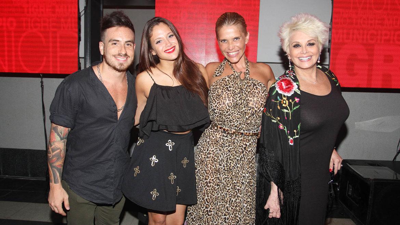 Fede Bal, Barbie, Nazarena y Carmen