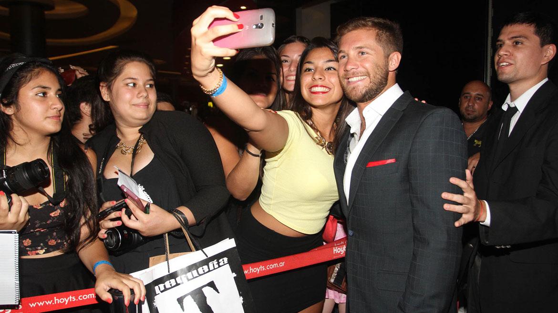 Nico Riera con sus fans
