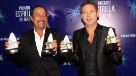 Francella y Suar, ganadores del premio Estrella de Oro