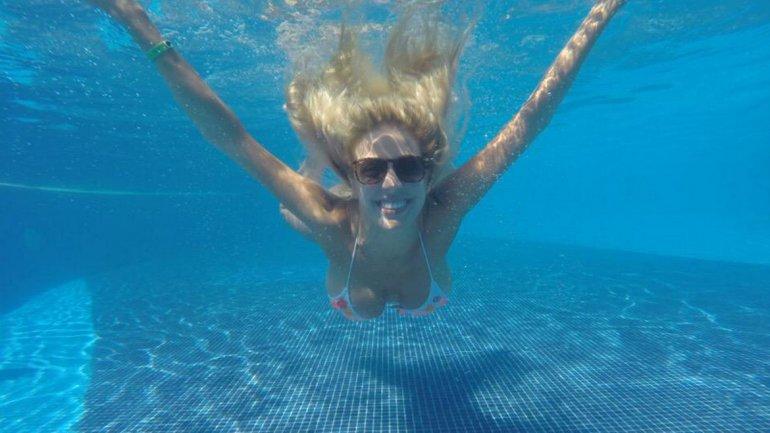 Las vacaciones románticas de Virginia Gallardo en Punta Cana