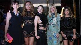 Teresa Garbesi, Flor de la V, Victoria Vannucci, Karina Rabolini y Agustina Casanova