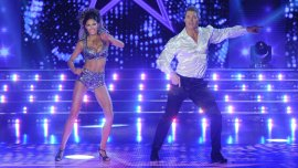 Barby Franco y Fernando Burlando en ShowMatch