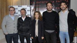 Axel Kuschevatzky, Oscar Martínez, Dolores Fonzi, Santiago Mitre y Nacho Viale