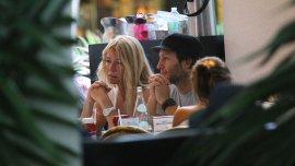 Cris Morena con Tomás Yankelevich en Miami