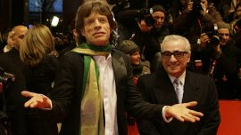 Mick Jagger y Martin Scorsese