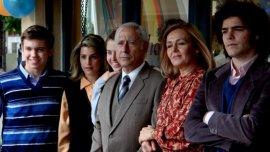 La familia Puccio en la película El Clan