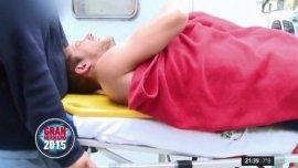 Francisco Delgado es trasladado a una clínica
